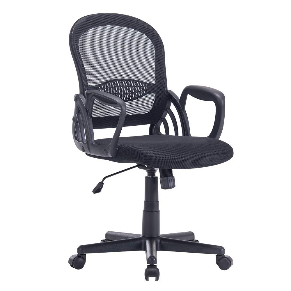 Sidanli Mesh Computer Office Chair-Black