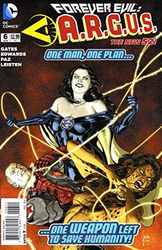 Forever Evil: A.R.G.U.S. #6 VF/NM ; DC comic book