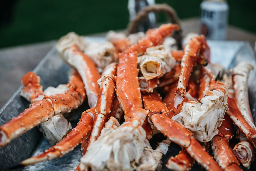 Alaskan King Crab: Giant Red King Crab Legs (3 LBS) - Overnight Shipping Monday-Thursday by Alaskan King Crab (Image #2)