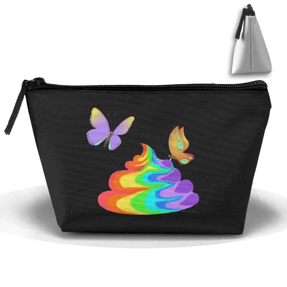 2019特集 Roomy6 レディース コスメティック クラッチ Poop アドベンチャー 羊 クラッチ 収納ポーチ メイクアップ Size バッグ オーガナイザー B07BNJK7KT Butterfly And Poop One Size, なでしこ:164ed7da --- egreensolutions.ca