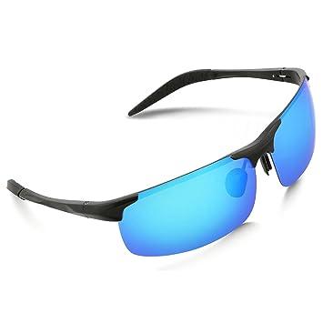 Perfectmiaoxuan Gafas de Sol polarizadas Deportes al Aire Libre Hombre Mujere/Hombres del Conductor Gafas