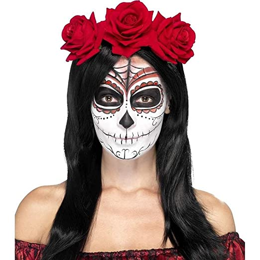 20e2250e9 Image Unavailable. Image not available for. Color: Smiffys Women's Day Of  The Dead ...