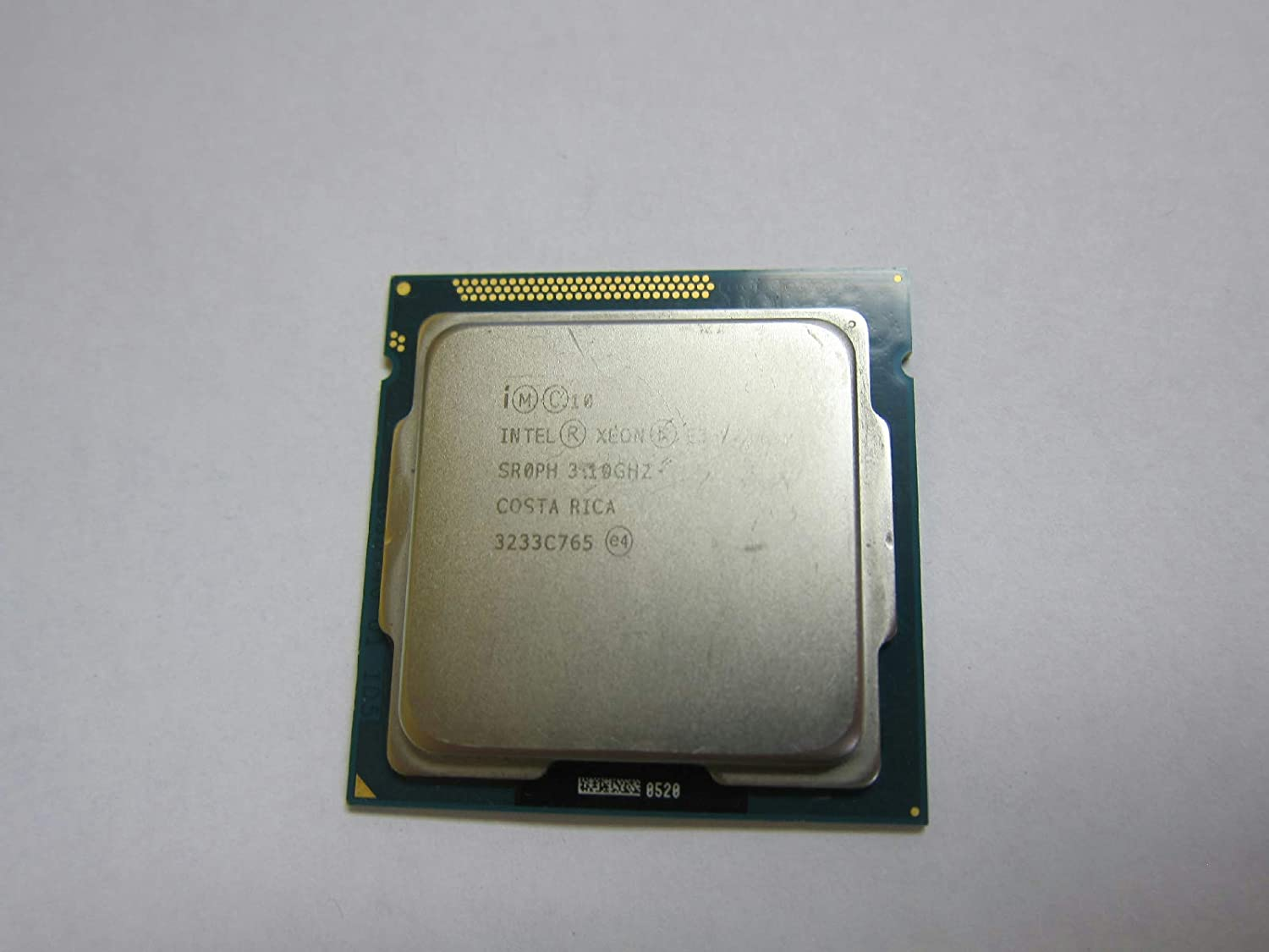 Intel Xeon E3-1220 V2 Quad Core Processor CPU 3.1GHz Socket LGA1155 SR0PH