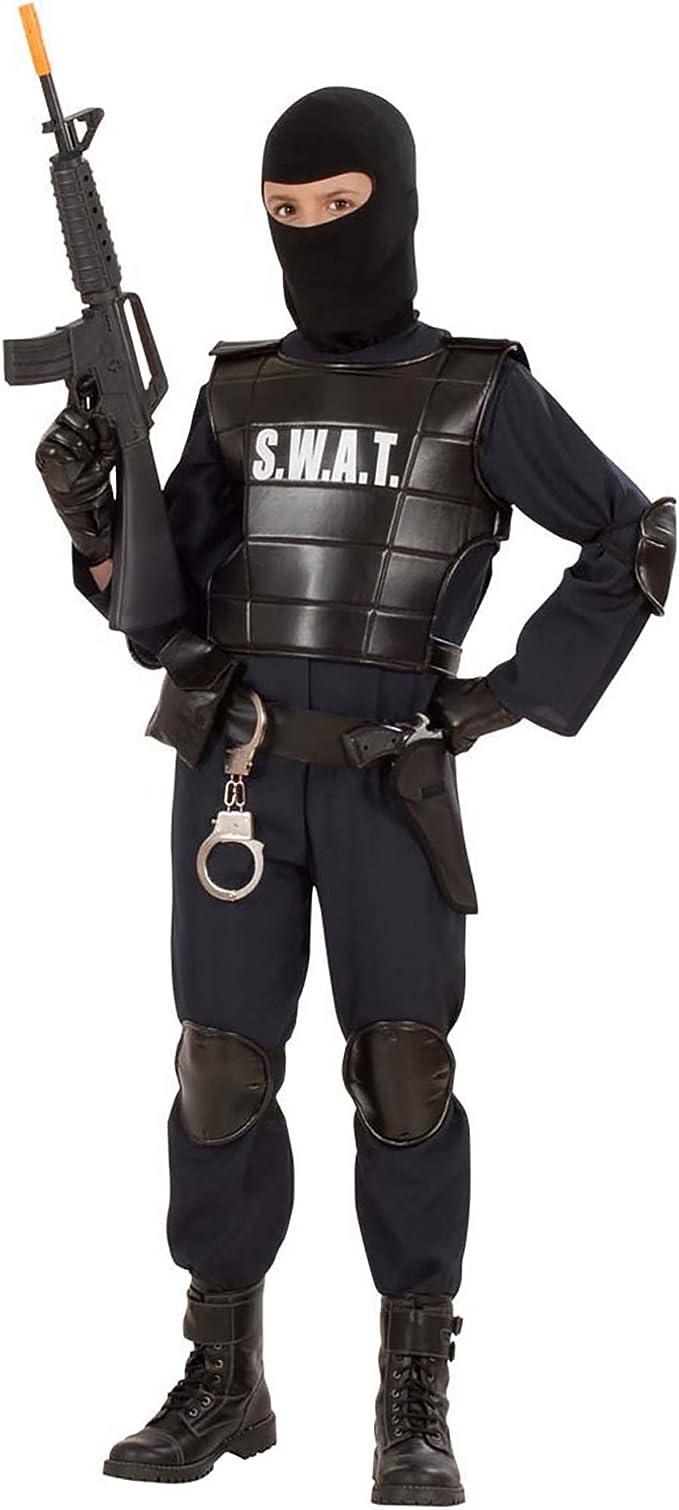 WIDMANN S.W.A.T.. - Disfraz de Oficial SWAT para niño, Talla 13 ...