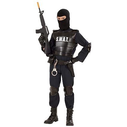 WIDMANN SWAT - Disfraz de oficial SWAT para niño, talla 13 años (55348)