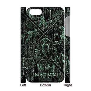 3Dthe Matrix For Apple Iphone 5C Case Cover the Matrix Painted for Teen Girls, For Apple Iphone 5C Case Cover Boys for Teen Girls [White]