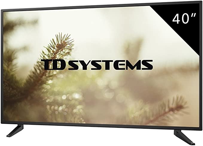 TD Systems - Televisores Led Full HD 40 Pulgadas K40DLM7F (Resolución 1920x1080/ HDMI x3/ VGA x1/ USB Reproductor y Grabador) TV, Televisiones HD (Reacondicionado): Amazon.es: Electrónica