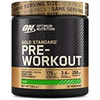 Optimum Nutrition Gold Standard Pre Workout en Polvo, Bebida Energética con Creatina…