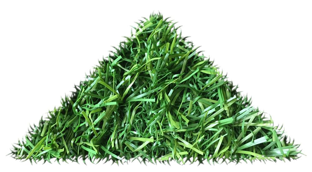 2m x 2m Preston 6mm Pile Height Artificial Grass | Natural & Realistic Looking Astro Garden Lawn | 6 ft 7 Inch x 6 ft 5 Inch | 200cm x 200cm | 79 x 79 Inches | High Density Fake Turf Tuda Grass Direct