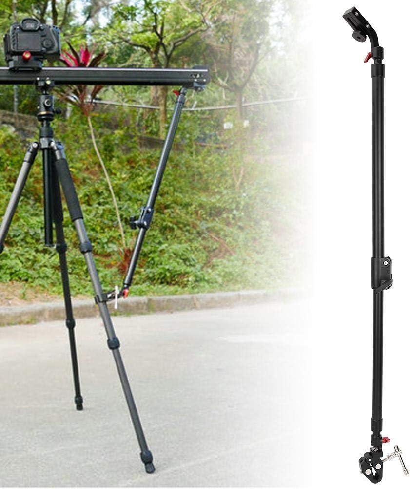 Aluminium Alloy Portable Camera Video Slider Support Tripod Rods Adjustable Slider Support Rods Delaman Camera Support Rod