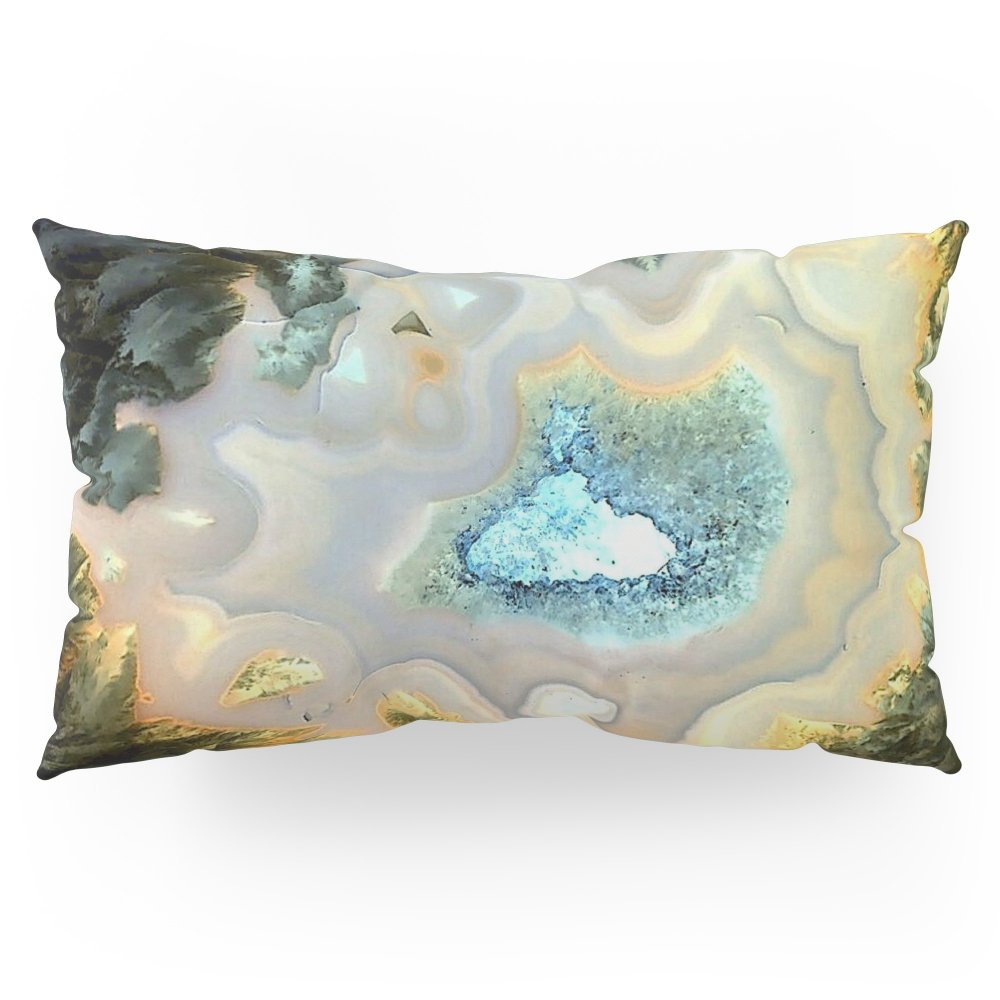 Society6 Geode Fairyland - Inverted Art Series Pillow Sham King (20'' x 36'') Set of 2