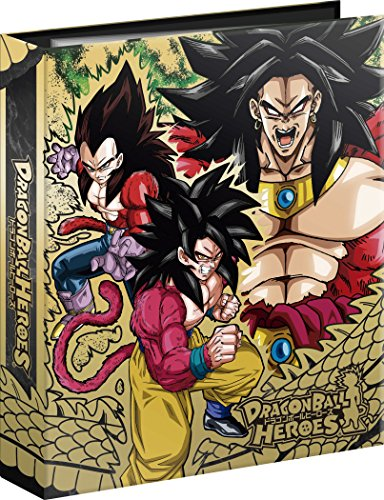 4 awakening ~ Dragon Ball Heroes 9 pocket binder set - Super Saiyan by Bandai