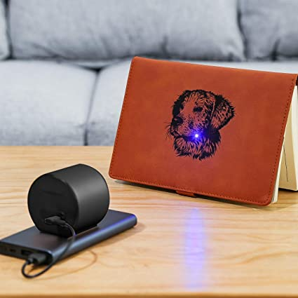 Mini Desktop Grabado L/áser Impresora L/áser port/átil de corte L/áser Grabadora con gafas de seguridad para el dise/ño de logotipos de bricolaje Art Craft Science Negro Grabador L/áser Compacto
