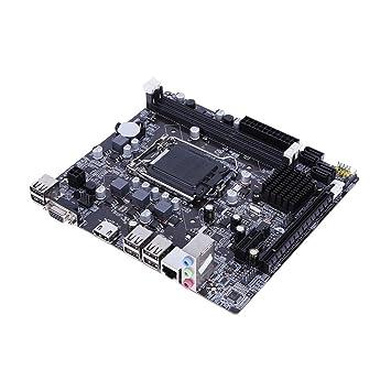 Placa base para ordenador portátil de sobremesa YouN H61 1155 pines interfaz CPU USB 3.0: Amazon.es: Electrónica