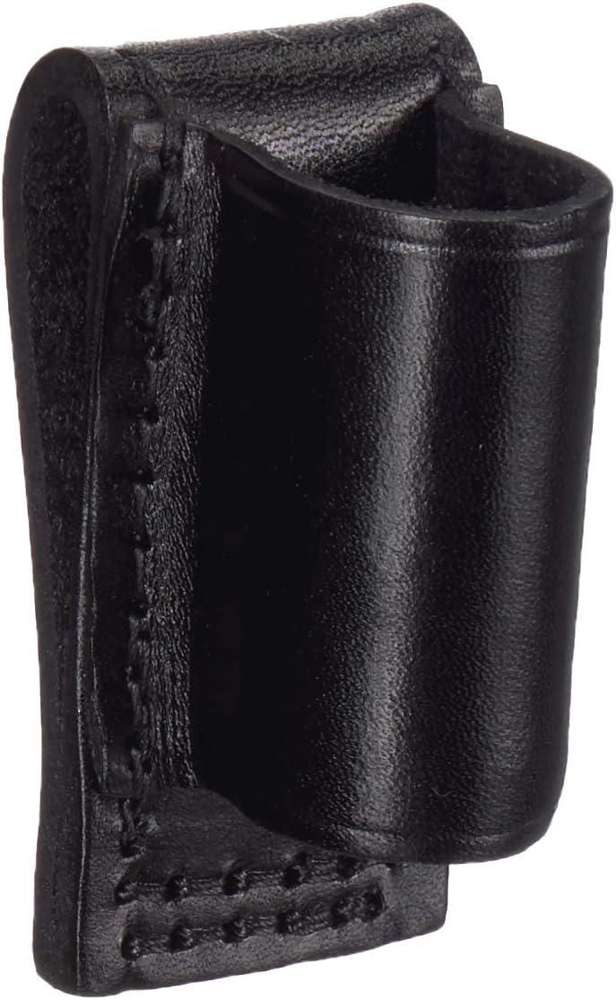 Stallion Leather SLDH-1 Plain Black Loop Holder For Stinger LED Flashlights