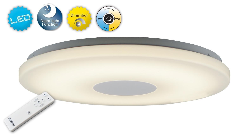 Naeve Leuchten LED Ceiling Light 35 W, Perth, PVC Diameter