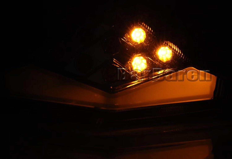 feux stop et clignotants int/égr/és Pour Kawasaki ER6N/ER6F Ninja650R 2012-2015 Barbaren Feux arri/ère /à LED pour moto /Éclairage arri/ère