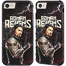 Official WWE Roman Reigns Superstars Gold Gripper Case for Apple iPhone 7 / iPhone 8