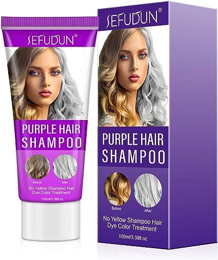 Purple Shampoo, Champú Purpura, Champú No Yellow Antiamarillo ...