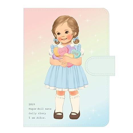 Amazon.com: Afrocat Agenda diaria de papel para muñecas 2019 ...