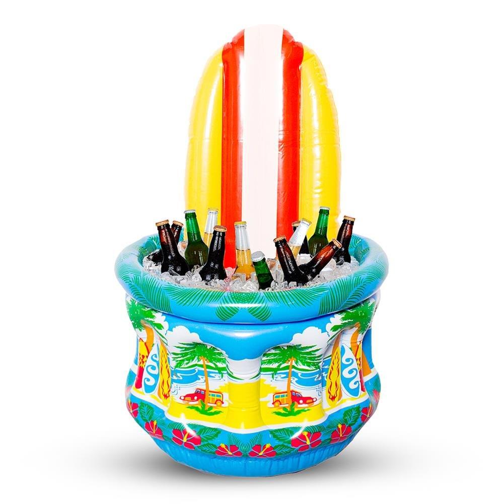 4 x HC de Comercio 922261 enfriador de bebida hinchable con surf ...