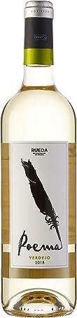 Poema Verdejo - 6 Botellas de 750 ml - Total: 4500 ml
