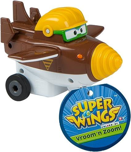 Super Wings- Todd figura fricción deslizante (Colorbaby 85134): Amazon.es: Juguetes y juegos