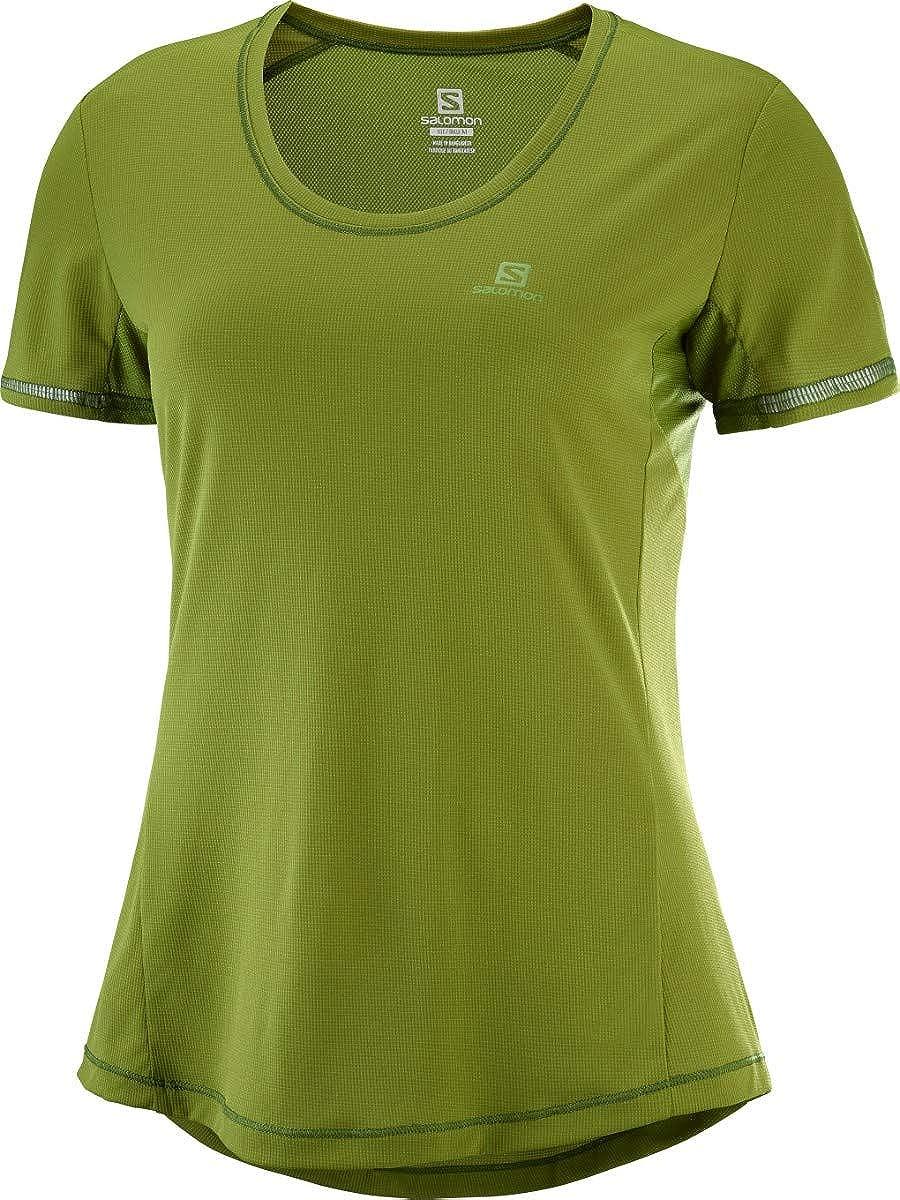 Camping & Outdoor SALOMON Agile SS W T Shirt Damen XS Damen