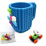 AWESOME Building Brick Mug Baukästen & Konstruktionsspielzeug Blue by Awesome