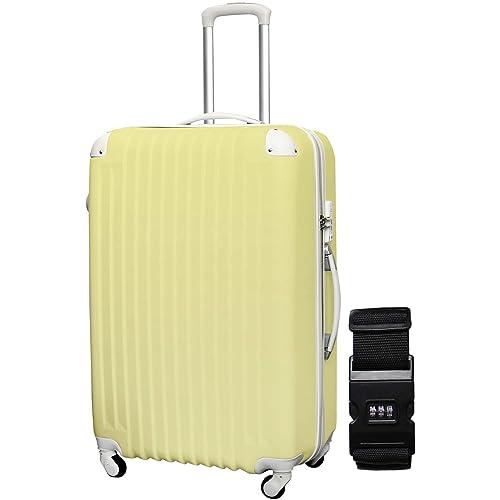 DABADA スーツケース スーツケース ベルト付