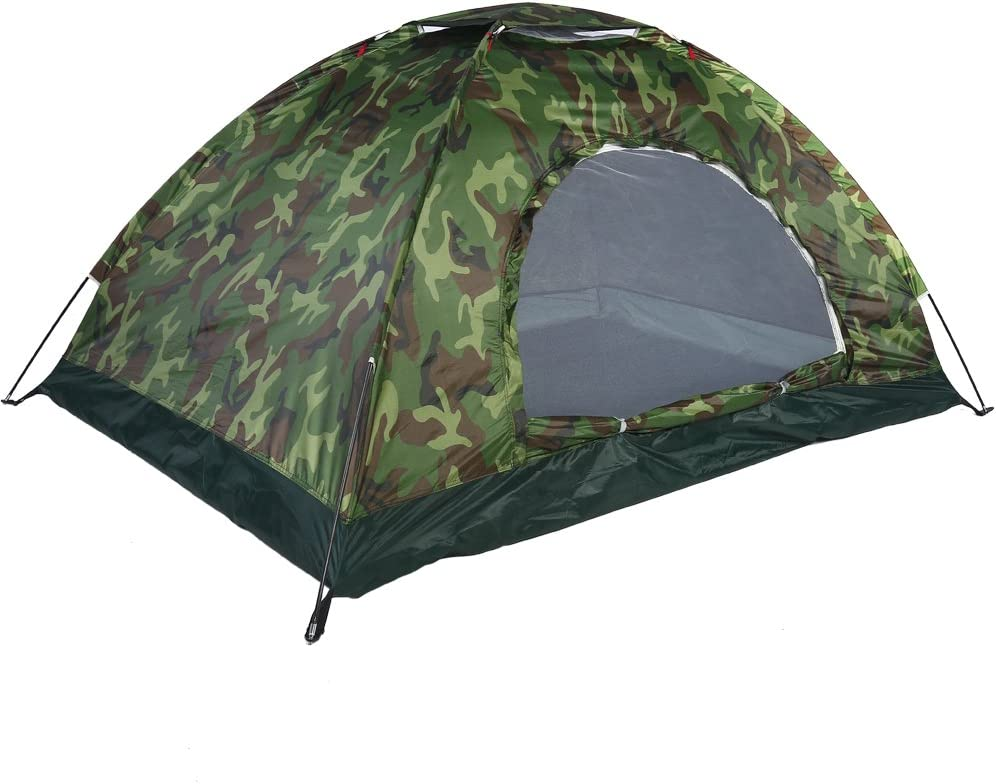 DaMohony Camping Tent, Outdoor Camouflage UV Protection