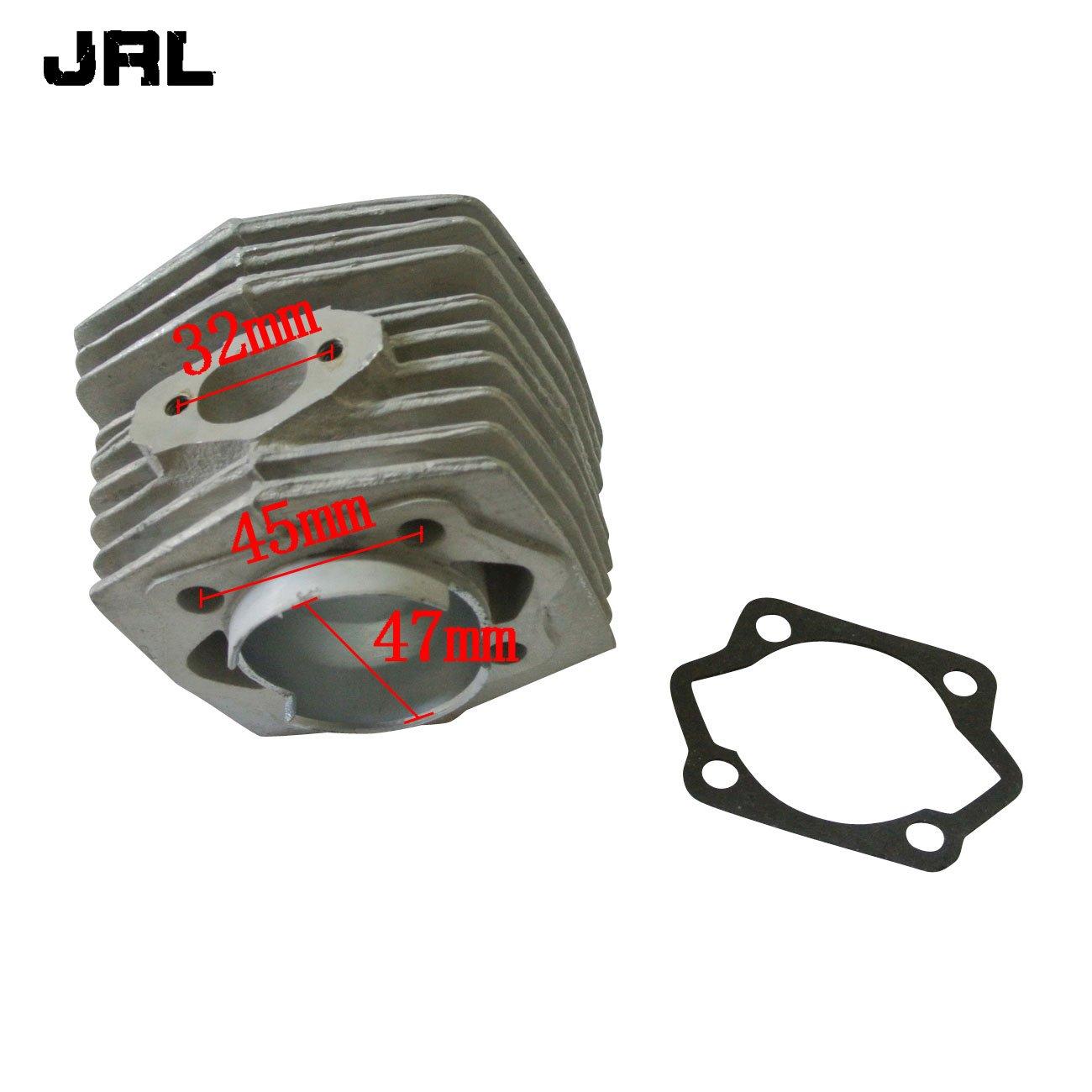 Pistons et Joints pour Moteur de v/élo motoris/é de 80/CC JRL Lot de cylindres