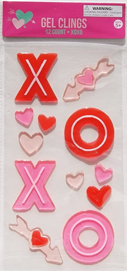 Amazon Com Love And Kisses Xoxo Hearts Arrows Valentines Day Gel