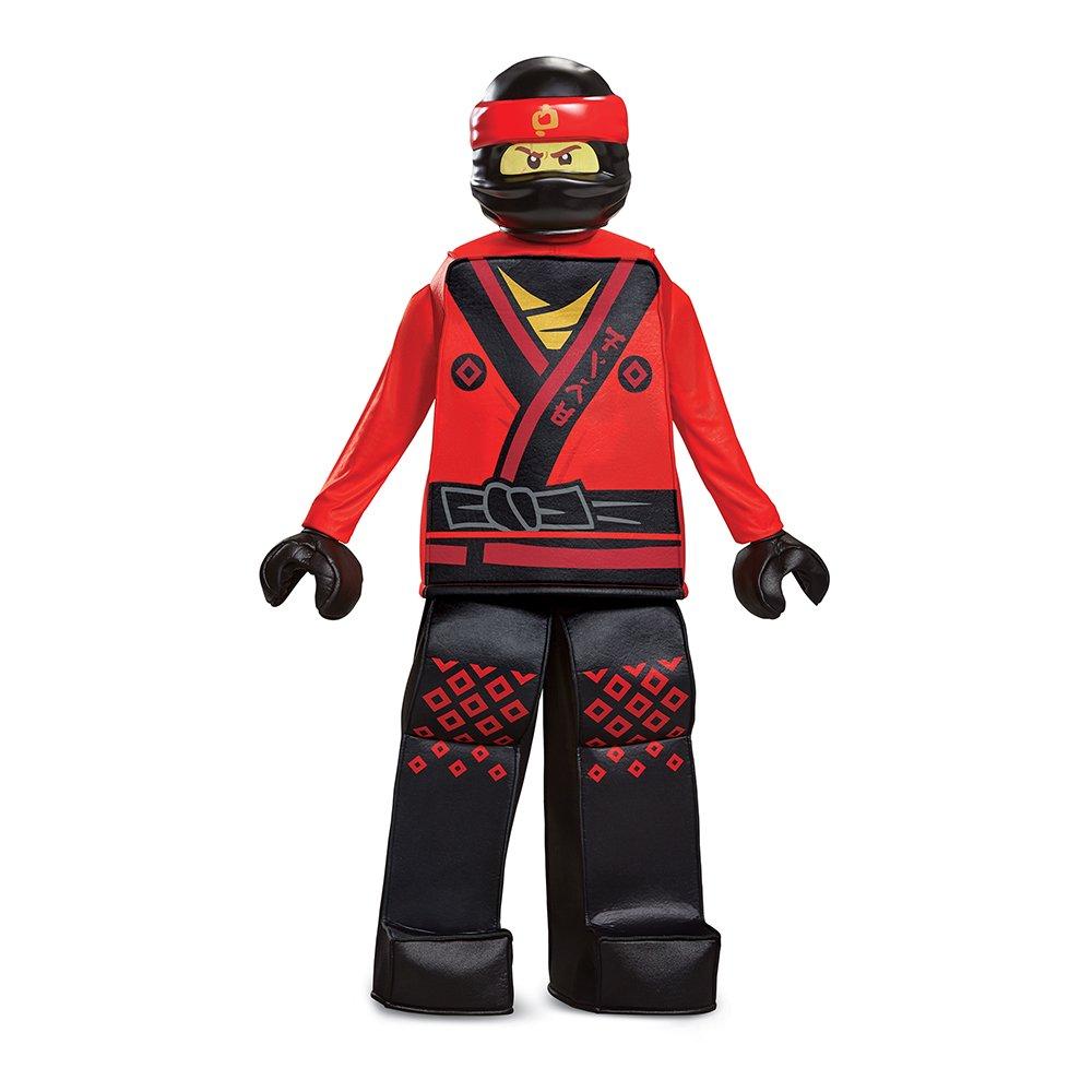Kai LEGO Ninjago Movie Prestige Costume, Red, Large (10-12)