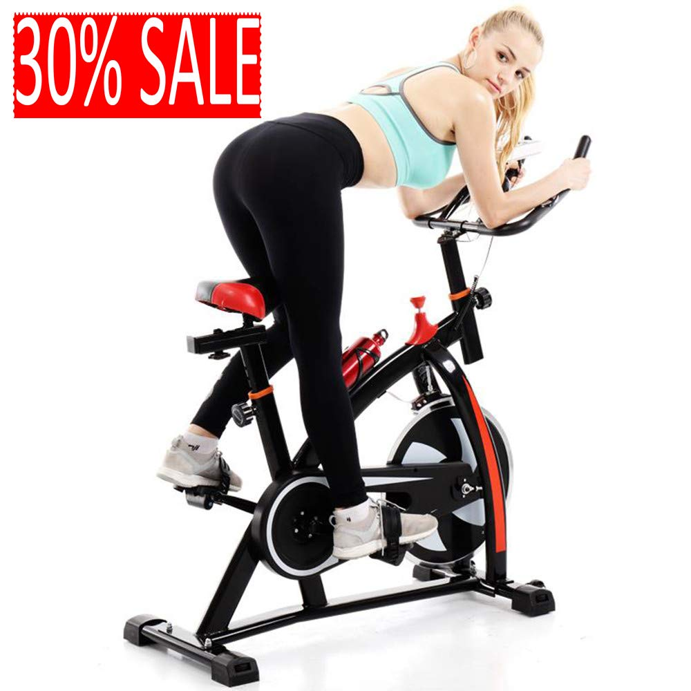 SUIKI Professional Indoor Cycling Bike, Smooth Quiet Belt Drive Indoor Stationary Exercise Bike