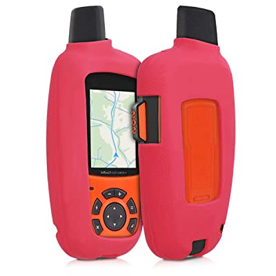 kwmobile Case Compatible with Garmin inReach Explorer - GPS Handset Navigation System Soft Silicone Skin Protective Cover - Red: GPS & Navigation