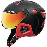 Alpina Unisex Attelas Visor QVM Ski Helmet, Unisex, Attelas Visor Qvm