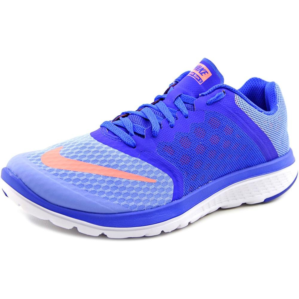 quality design 4bd28 7a466 Galleon - Nike Fs Lite Run 3 Women US 5 Blue Sneakers