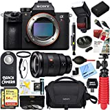 Sony a7R III Full-frame Mirrorless Interchangeable Lens 42.4MP Camera Body + FE 16-35mm Wide-Angle Zoom Lens & Accessory Bundle
