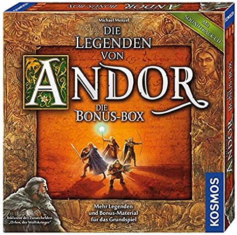 Legends of Andor New Heroes Expansion Pack for 5-6 Players Thames Game 692261