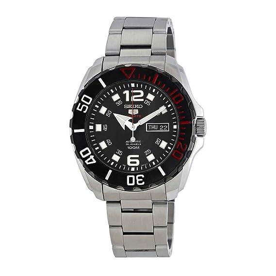 Seiko Reloj Analogico para Hombre de Automático con Correa en Acero Inoxidable SRPB35K1: Seiko: Amazon.es: Relojes