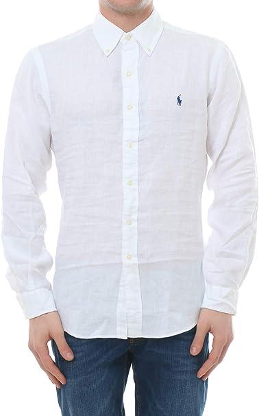 Ralph Lauren Linen Shirt, Hombre.