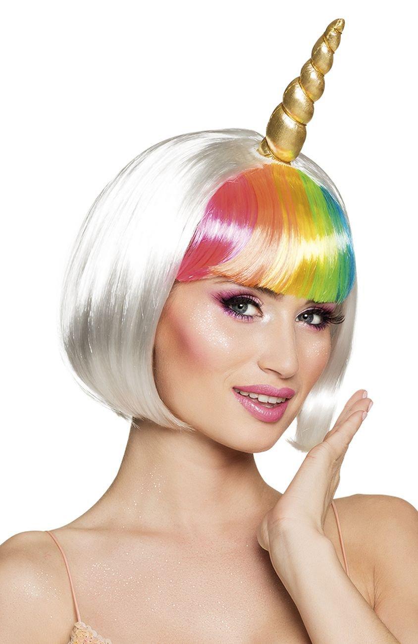 Boland 85820 peluca Unicornio con cuerno, One size: Amazon.es: Juguetes y juegos