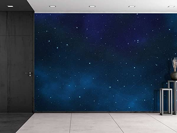 Large sky mural wallpaper