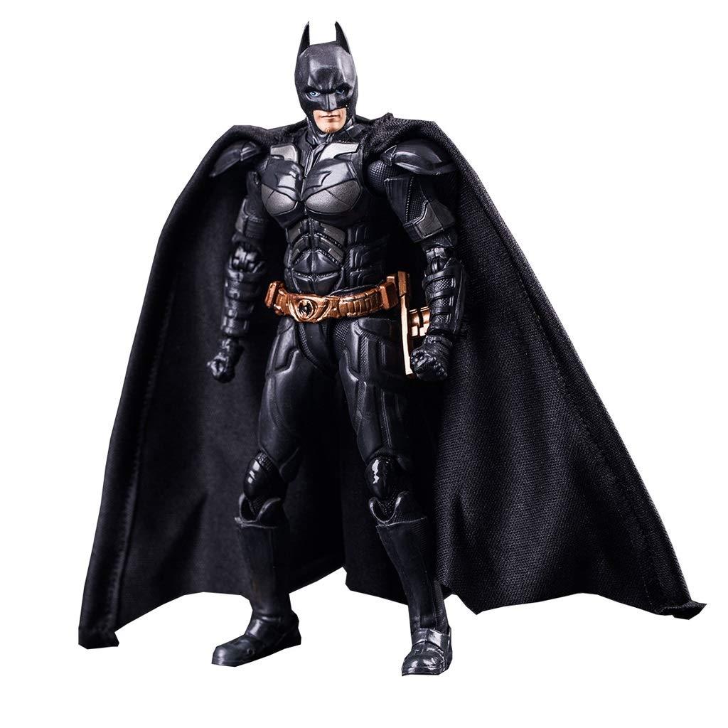 Hyzb Batman Modello Dark Knight Desktop Decoration Giocattoli Fatti a Mano Artigianato 15 cm