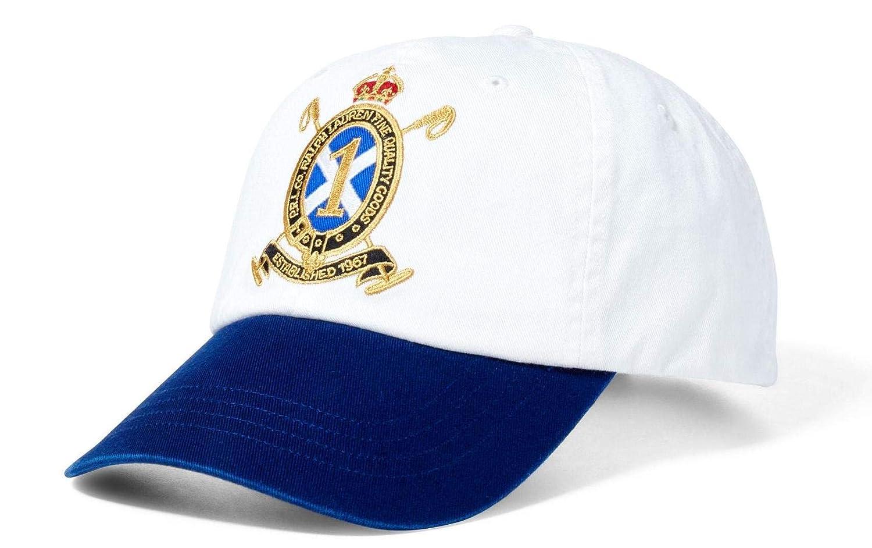 Ralph Lauren Classic Sport - Gorra (talla única), color blanco y ...