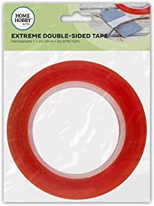 Home & Hobby Red Line Double-Sided Tape 1/8""