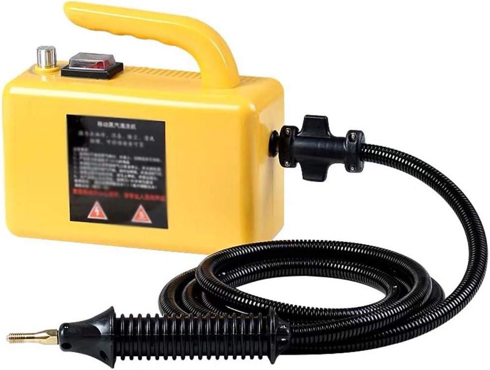 Lavadora de autos Limpiador de vapor de mano multifuncional Limpiador de vapor de automóvil Lavadora de vapores de servicio pesado multifuncional,Amarillo