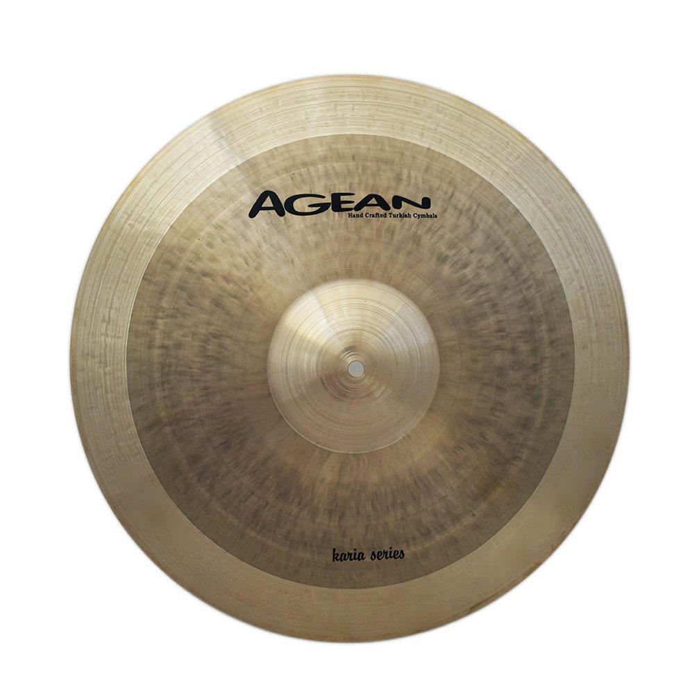 Agean Cymbals 19'' Karia Crash / Ride Cymbal - KRA-CRSR19 by Agean Cymbals