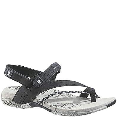 51a09e95555c Merrell Siena Navy Flat Women Sandals